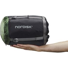 Nordisk Gormsson -2° Curve Slaapzak M, zwart/groen